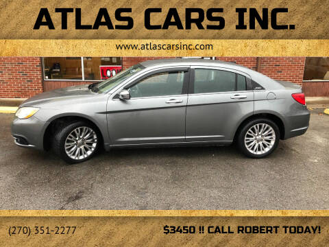 2011 Chrysler 200 for sale at Atlas Cars Inc. in Radcliff KY