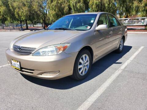 2002 Toyota Camry for sale at ALL CREDIT AUTO SALES in San Jose CA