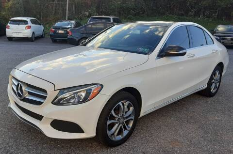 2015 Mercedes-Benz C-Class for sale at Bik's Auto Sales in Camp Hill PA