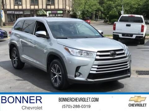 2018 Toyota Highlander for sale at Bonner Chevrolet in Kingston PA