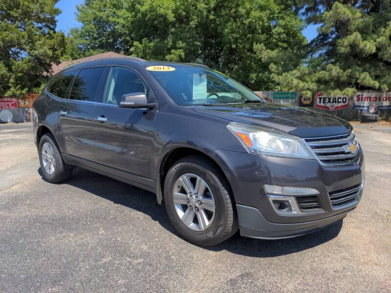2013 Chevrolet Traverse for sale at Towell & Sons Auto Sales in Manila AR