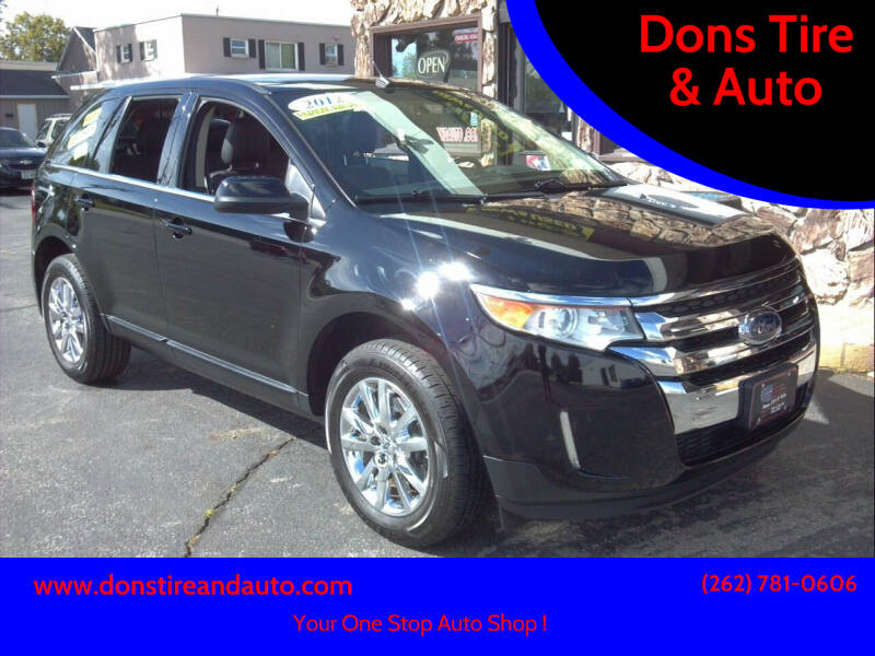 2012 Ford Edge for sale at Dons Tire & Auto in Butler WI