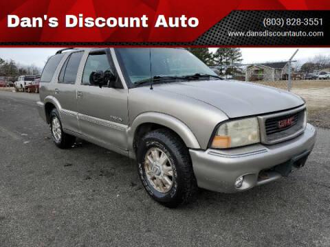 1999 GMC Envoy for sale at Dan's Discount Auto in Gaston SC