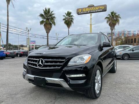2012 Mercedes-Benz M-Class for sale at A MOTORS SALES AND FINANCE - 10110 West Loop 1604 N in San Antonio TX