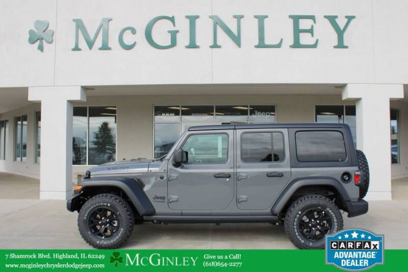 2021 Jeep Wrangler Unlimited for sale in Highland, IL