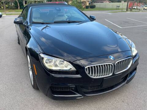 2015 BMW 6 Series for sale at Consumer Auto Credit in Tampa FL