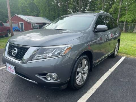 2015 Nissan Pathfinder for sale at MBL Auto in Fredericksburg VA