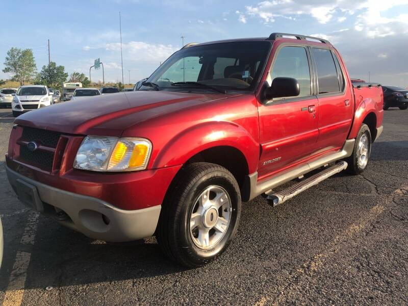 2001 Ford Explorer Sport Trac for sale at Capitol Hill Auto Sales LLC in Denver CO