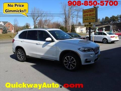 2017 BMW X5 for sale at Quickway Auto Sales in Hackettstown NJ