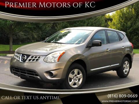 2011 Nissan Rogue for sale at Premier Motors of KC in Kansas City MO