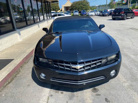 2012 Chevrolet Camaro for sale at J Franklin Auto Sales in Macon GA
