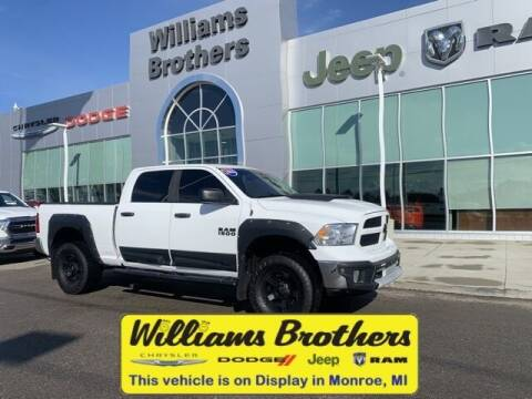 2016 RAM Ram Pickup 1500 for sale at Williams Brothers - Pre-Owned Monroe in Monroe MI