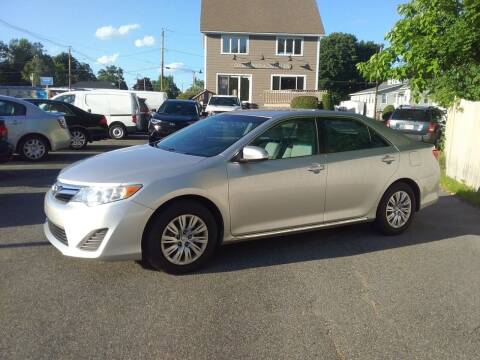 2013 Toyota Camry for sale at Good Works Auto Sales INC in Ashland MA