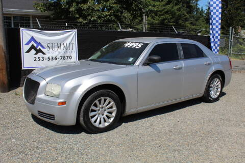 2007 Chrysler 300 for sale at Summit Auto Sales in Puyallup WA