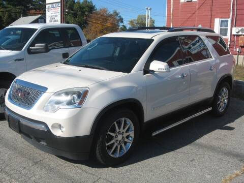 2008 GMC Acadia for sale at Joks Auto Sales & SVC INC in Hudson NH