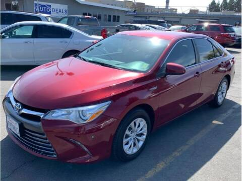 2015 Toyota Camry Hybrid for sale at AutoDeals in Hayward CA