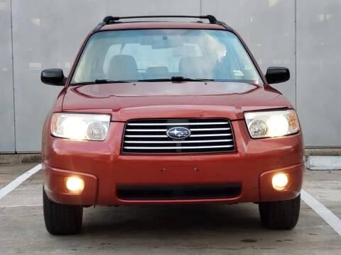 2007 Subaru Forester for sale at Delta Auto Alliance in Houston TX