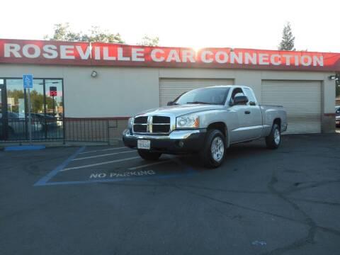 2005 Dodge Dakota for sale at ROSEVILLE CAR CONNECTION in Roseville CA