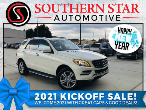 2013 Mercedes-Benz M-Class for sale at Southern Star Automotive, Inc. in Duluth GA