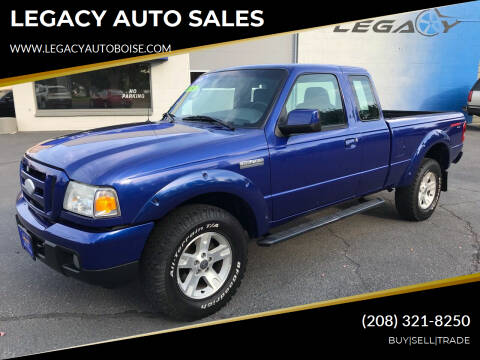 2006 Ford Ranger for sale at LEGACY AUTO SALES in Boise ID