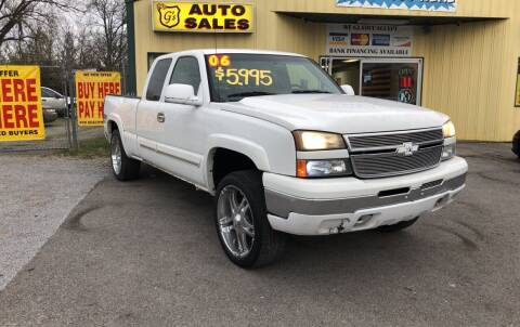 2006 Chevrolet Silverado 1500 for sale at Mr. G's Auto Sales in Shelbyville TN
