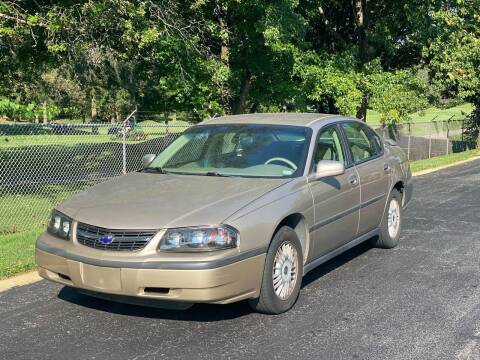 2002 Chevrolet Impala for sale at Best Deal Auto Sales in Saint Charles MO