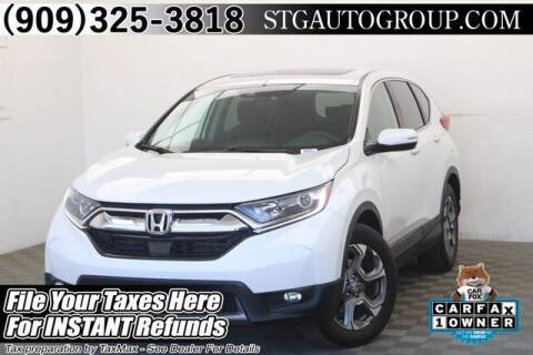 2019 Honda CR-V for sale at STG Auto Group in Montclair CA