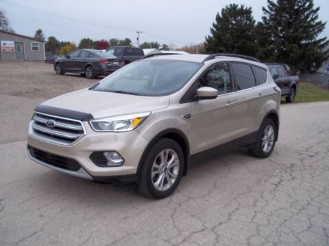 2017 Ford Escape for sale at SHULLSBURG AUTO in Shullsburg WI