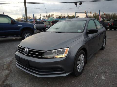 2015 Volkswagen Jetta for sale at P J McCafferty Inc in Langhorne PA