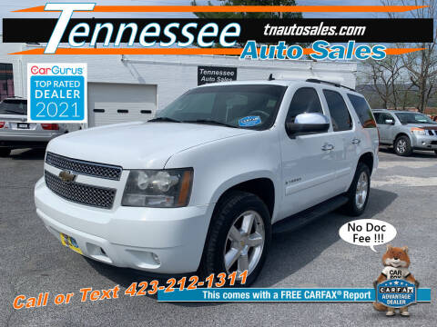 2008 Chevrolet Tahoe for sale at Tennessee Auto Sales in Elizabethton TN