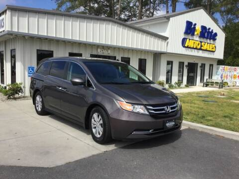 2015 Honda Odyssey for sale at Bi Rite Auto Sales in Seaford DE