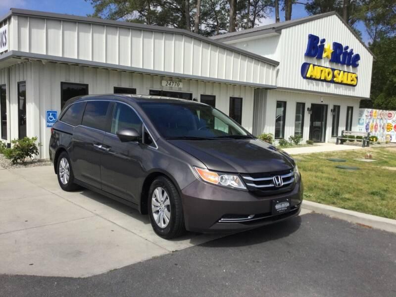 2015 Honda Odyssey for sale at Bi Rite Auto Sales in Seaford DE