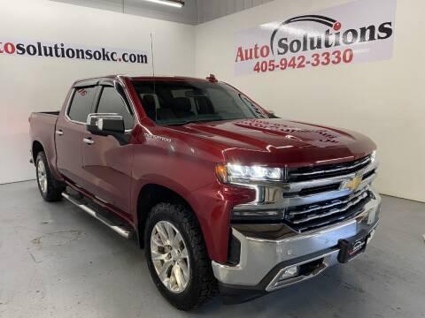 2019 Chevrolet Silverado 1500 for sale at Auto Solutions in Warr Acres OK