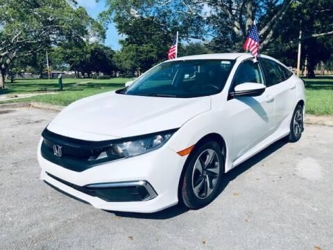 2019 Honda Civic for sale at Venmotors LLC in Hollywood FL