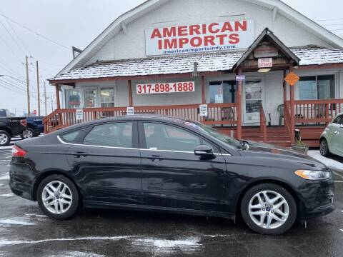 2014 Ford Fusion for sale at American Imports INC in Indianapolis IN
