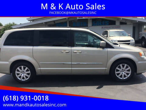 2013 Chrysler Town and Country for sale at M & K Auto Sales in Granite City IL