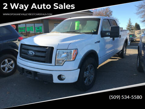 2009 Ford F-150 for sale at 2 Way Auto Sales in Spokane Valley WA