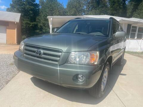 2007 Toyota Highlander for sale at Efficiency Auto Buyers in Milton GA