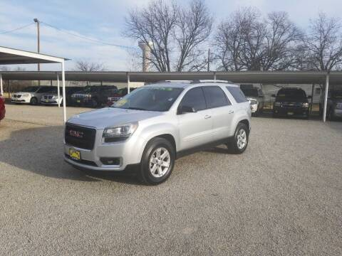 2016 GMC Acadia for sale at Bostick's Auto & Truck Sales in Brownwood TX