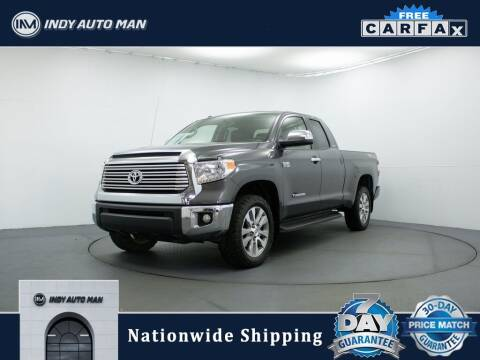 2017 Toyota Tundra for sale at INDY AUTO MAN in Indianapolis IN
