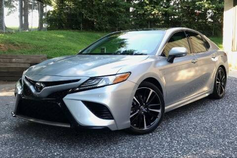 2018 Toyota Camry for sale at TRUST AUTO in Sykesville MD