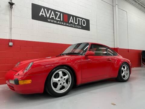 1995 Porsche 911 for sale at AVAZI AUTO GROUP LLC in Gaithersburg MD