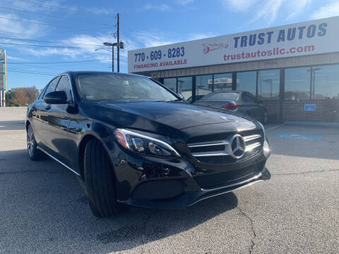 2017 Mercedes-Benz C-Class for sale at Trust Autos, LLC in Decatur GA