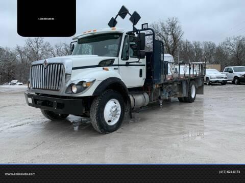 2012 International WorkStar 7400 for sale at C. Cox Auto Sales Inc in Joplin MO