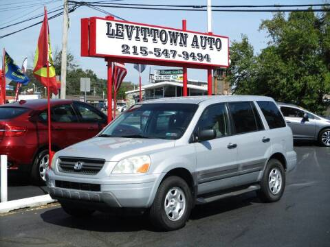 2003 Honda Pilot for sale at Levittown Auto in Levittown PA