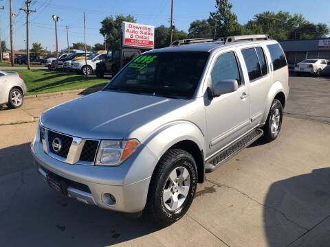 2007 Nissan Pathfinder for sale at Downing Auto Sales in Des Moines IA