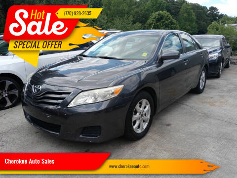 2011 Toyota Camry for sale at Cherokee Auto Sales in Acworth GA