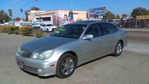 2001 Lexus GS 300 for sale at Larry's Auto Sales Inc. in Fresno CA
