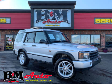 2004 Land Rover Discovery for sale at B & M Auto Sales Inc. in Oak Forest IL