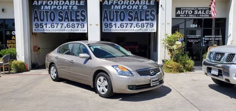 2008 Nissan Altima for sale at Affordable Imports Auto Sales in Murrieta CA
